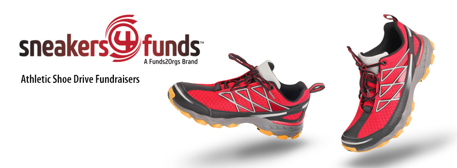Find out how mud runs and athletic teams can fundraise with athletic shoes